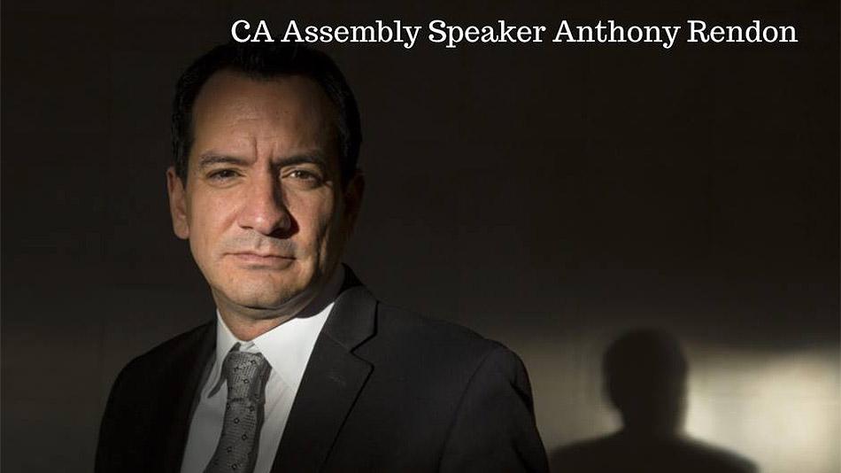 Assembly Speaker Anthony Rendon