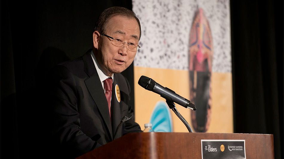 Ban Ki-moon urges U.S. to shun 'powerful interests' and adopt universal healthcare