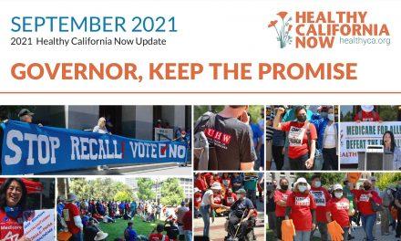 Healthy California Now Newsletter – September 2021