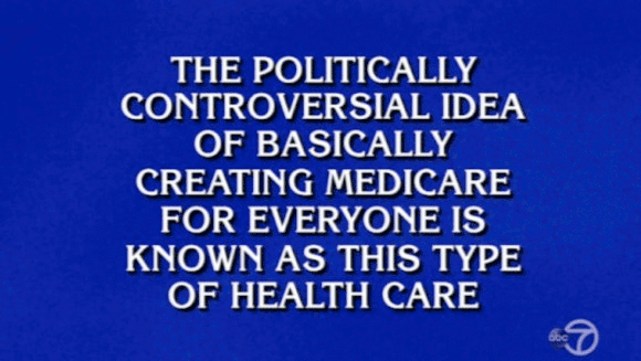 Medicare For All on Jeopardy