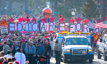 A New Year's Day Parade for 'Medicare for All' Signals Energized Battle Ahead in California